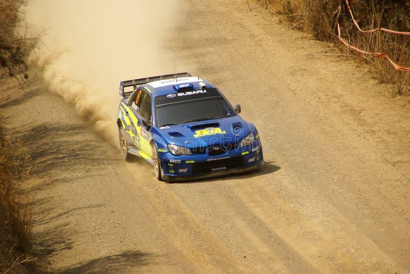 Reunión México de la corona de WRC foto de archivo