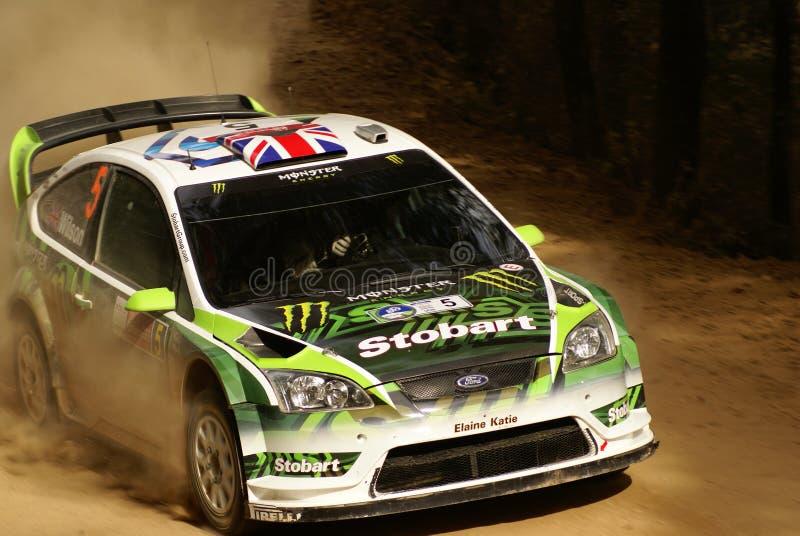 Reunión México De La Corona De WRC WILSON 2010 Fotografía editorial