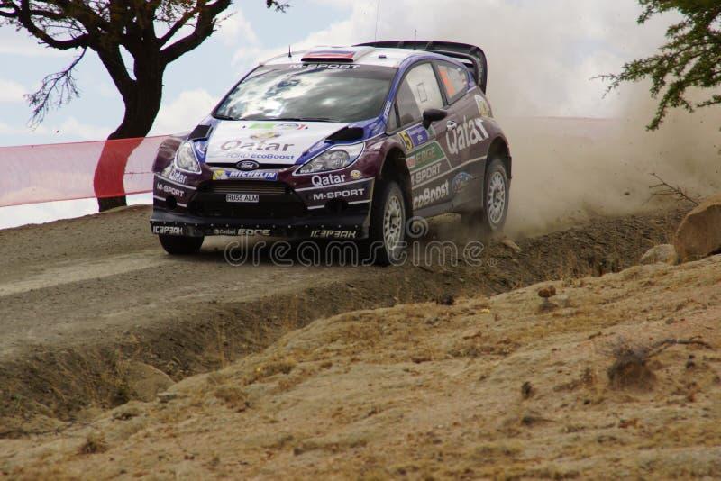 Reunión Guanajuato México 2013 de WRC imagen de archivo libre de regalías