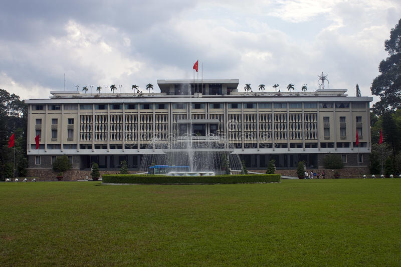Download Reunification Palace stock image. Image of landmark, norodom - 30964593