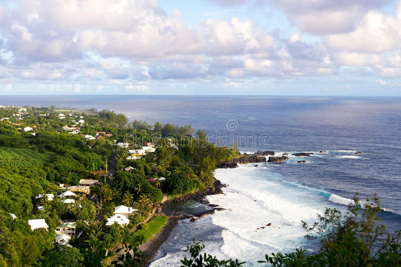 Download Reunion Island stock image. Image of ocean, coast, tide - 19796087