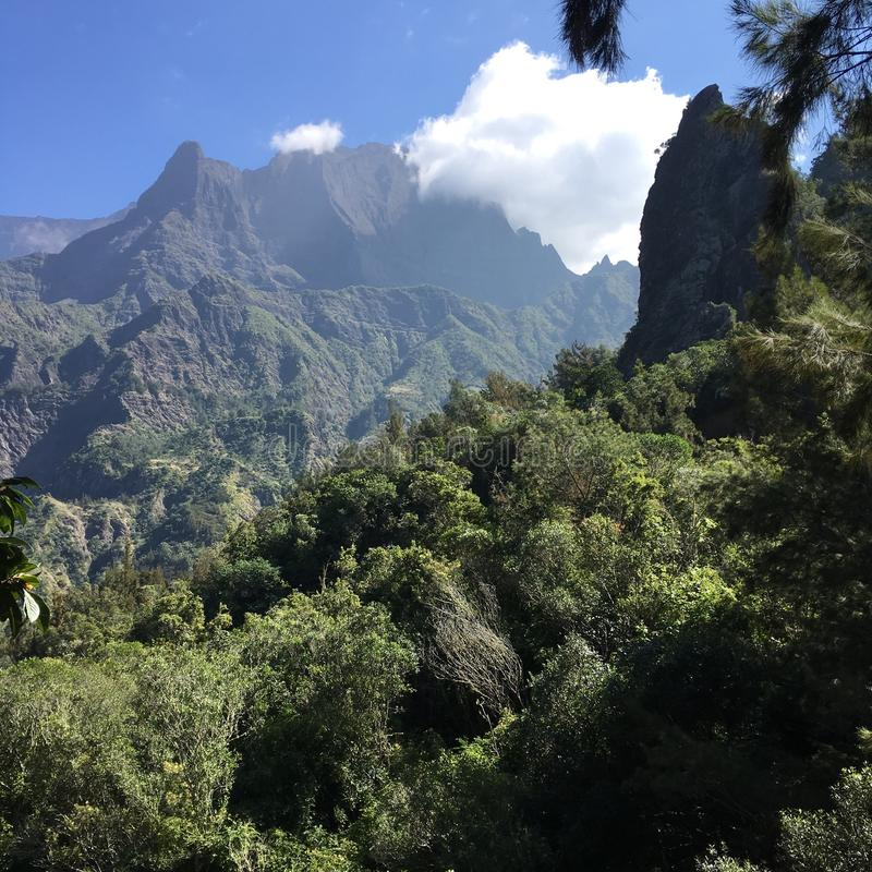 Reunion Island fotografia stock libera da diritti
