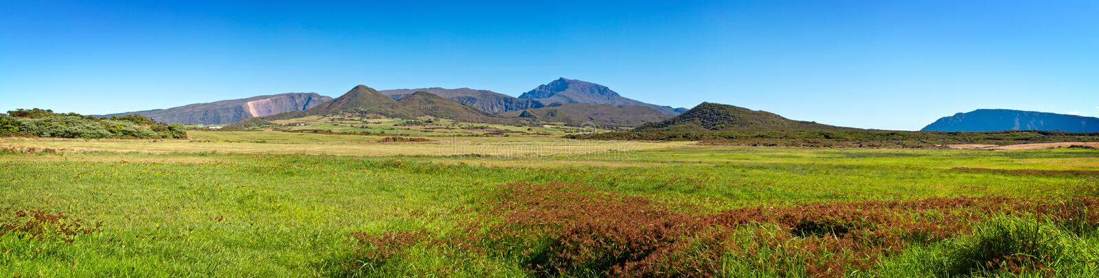 Download Reunion Island landscape stock image. Image of panorama - 19709211