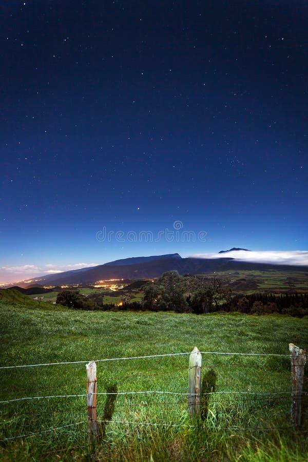 Download Reunion Island landscape stock image. Image of open, dark - 24057585