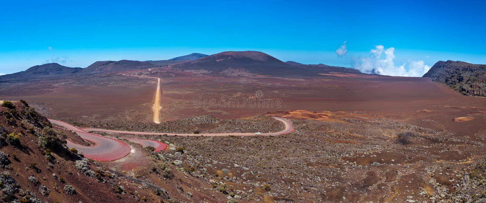 Download Reunion Island panoramic stock photo. Image of reunion - 21648312