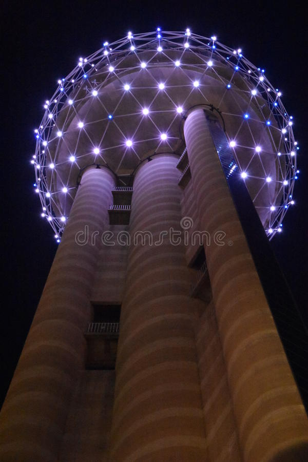 Reunion Tower in Dallas, Texas. It one of the most recognizable landmarks in Dallas royalty free stock photos