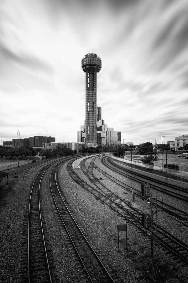 Reunion Tower in Dallas, Texas, USA. The Reunion Tower in Dallas, Texas, USA royalty free stock photo