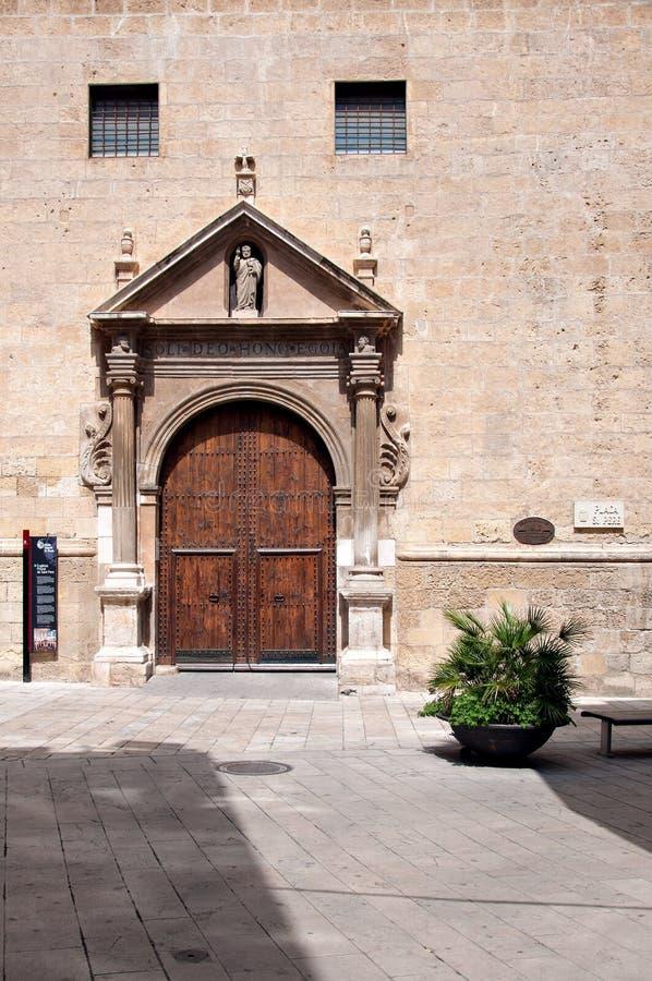圣Pere修道院在Reus,西班牙 免版税库存照片
