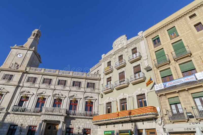 Reus Catalonia, Spanien royaltyfri fotografi