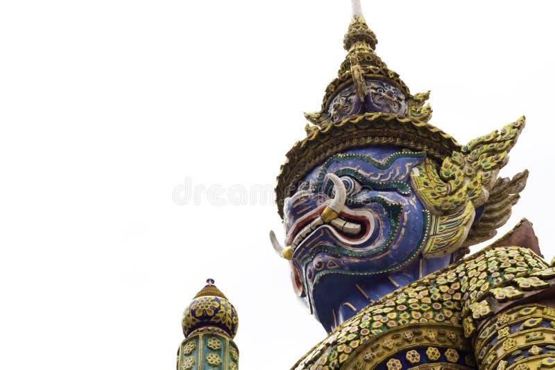 Reus in Wat Phra Kaew of naam officieel als Wat Phra Si Rattana Satsadaram stock fotografie