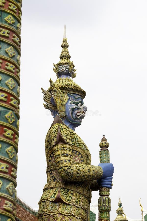 Reus in Wat Phra Kaew of naam officieel als Wat Phra Si Rattana Satsadaram royalty-vrije stock fotografie