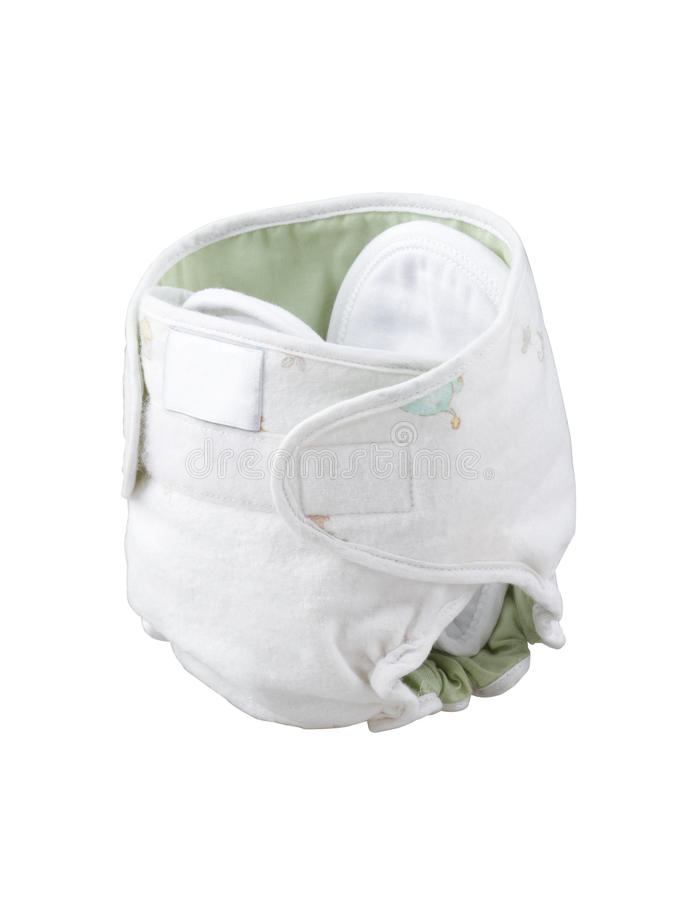 Download Reusable baby cloth diaper stock photo. Image of delicate - 25844276