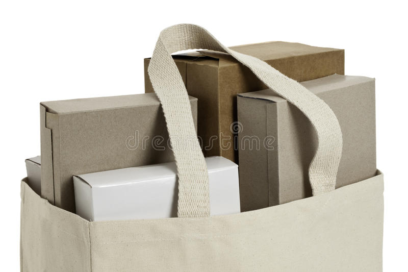 Download Reusable shopping bag stock image. Image of brown, beige - 22179603