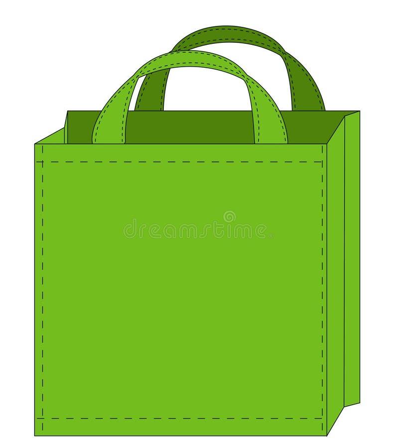 Download Reusable shopping bag stock vector. Image of carrier, vector - 5850207