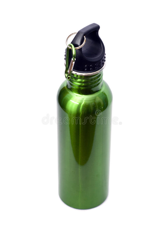 Download Reusable Stainless Steel Water Bottle Stock Photo - Image: 14674454