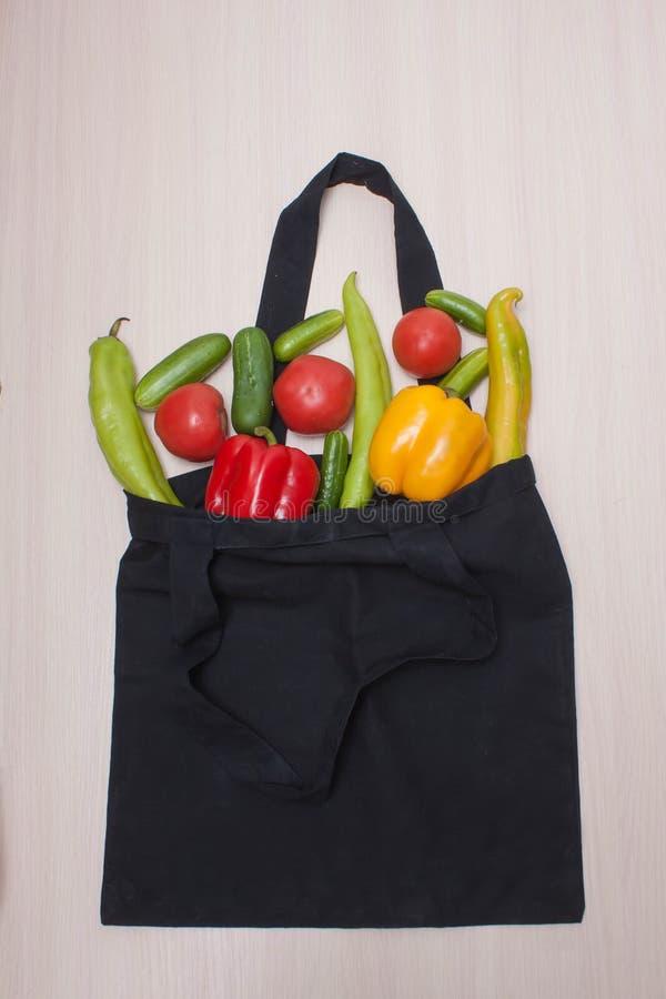 Reusable torba z zero odpadami obraz stock