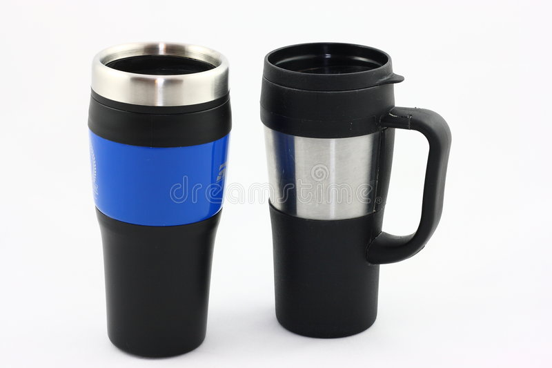 Download Reusable Travel Mugs stock photo. Image of commute, container - 8529700