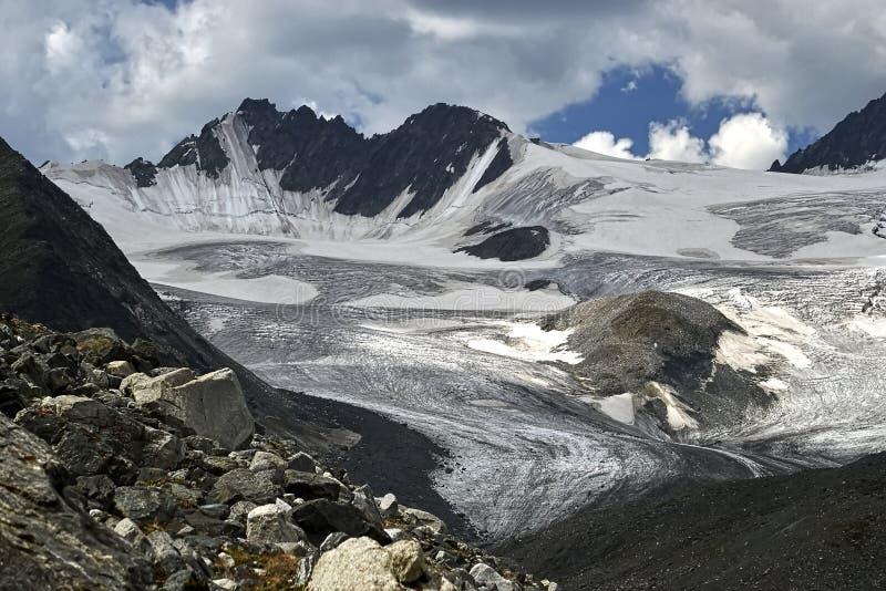 Reusachtig ijsgebied van royalty-vrije stock afbeelding