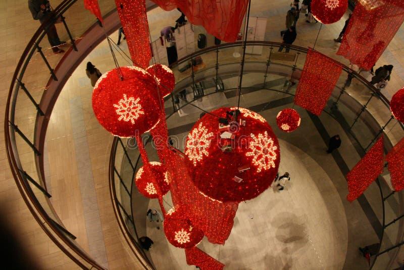 Reusachtig winkelcentrum royalty-vrije stock foto