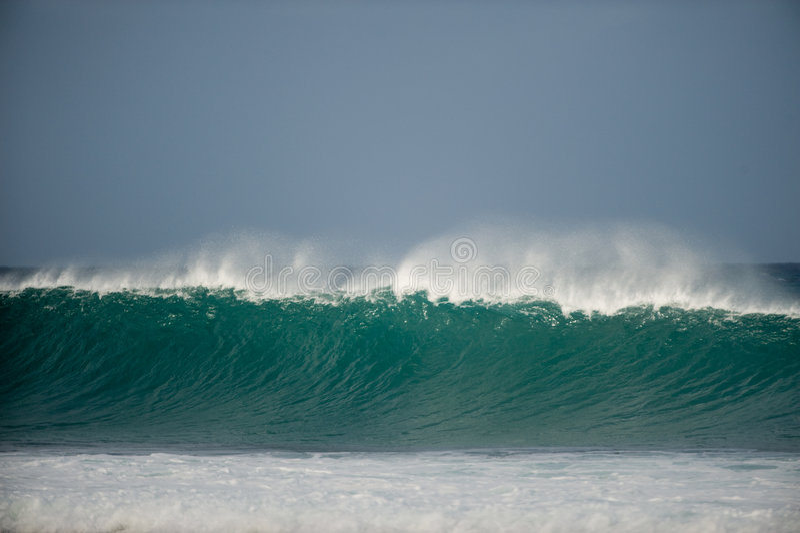 Reusachtige golven stock foto