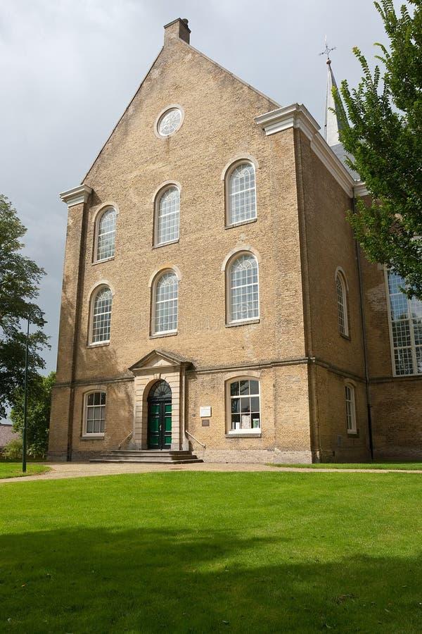 Reusachtige Protestantse kerk royalty-vrije stock afbeeldingen