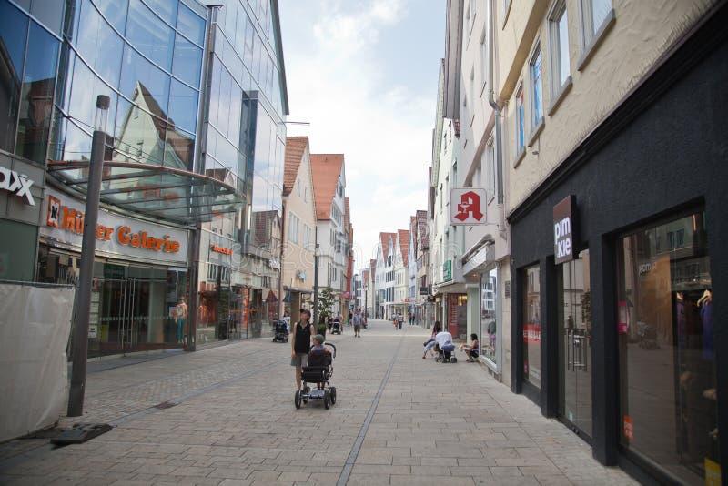 Reutlingen downtown imagens de stock royalty free