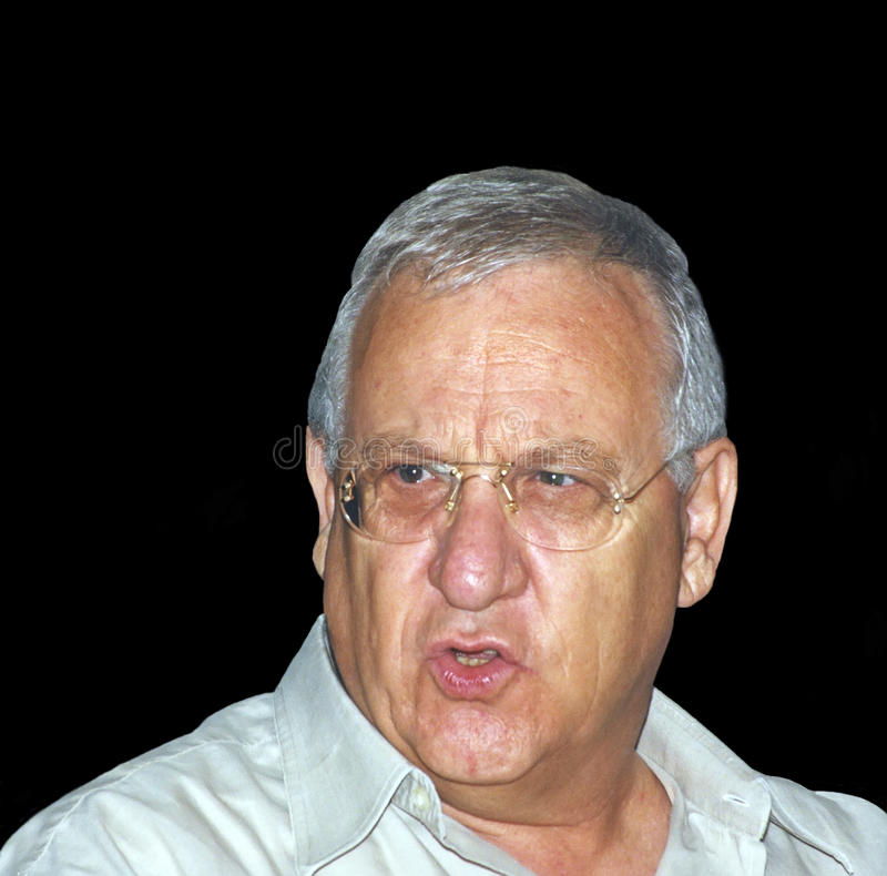 Download Reuven Ruby Rivlin editorial stock image. Image of politician - 41464129