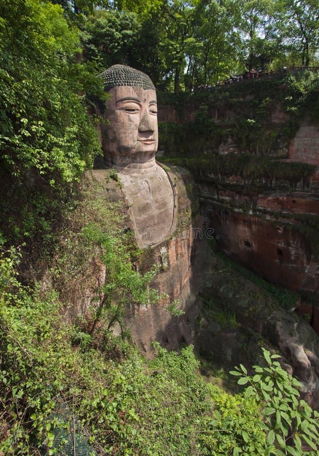 Reuze Buddah Van Leshan Sichuan Provincie Royalty-vrije Stock Fotografie