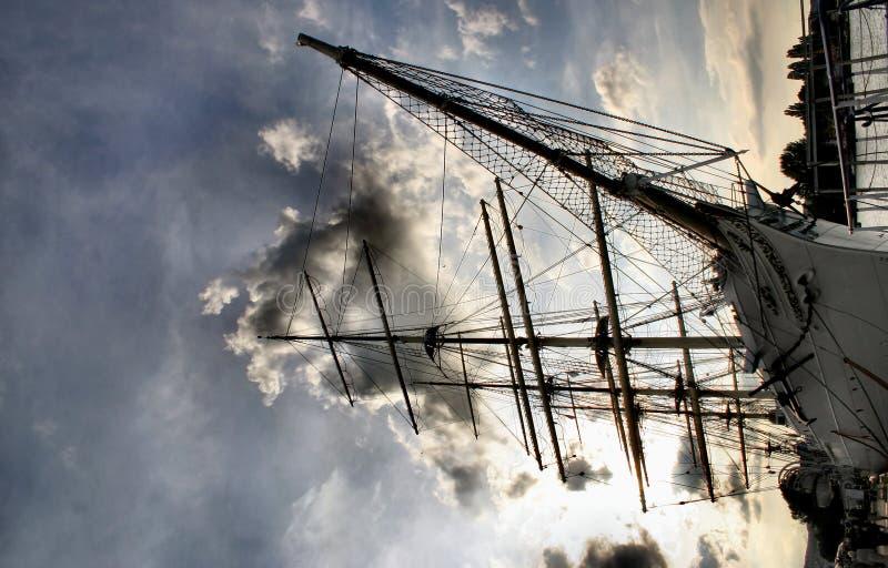 Reuze Zeilboot Royalty-vrije Stock Afbeeldingen