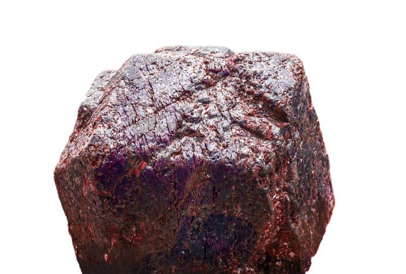 Reuzekristal van almandine royalty-vrije stock afbeelding