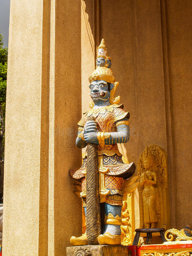 Reuzen Thai royalty-vrije stock afbeeldingen