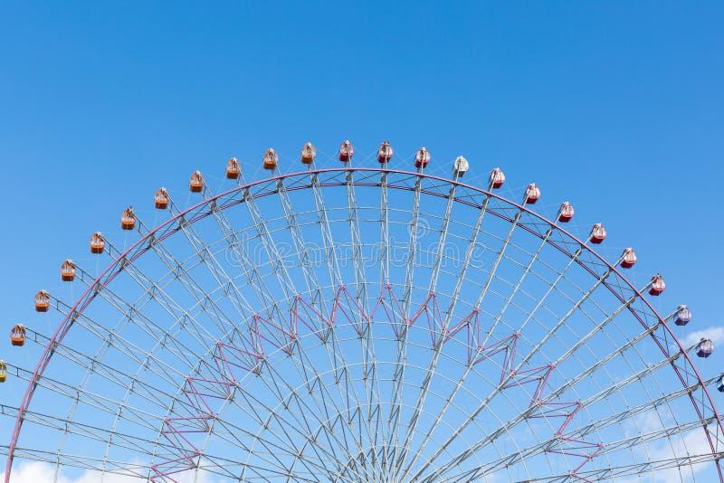 Reuzenrad in Osaka stock afbeeldingen