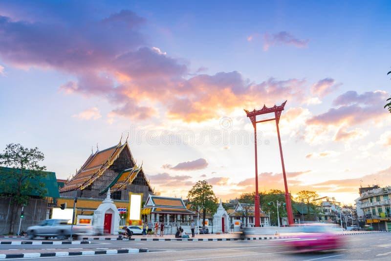 Reuzeschommelingssao Ching Cha in Bangkok, Thailand stock afbeelding