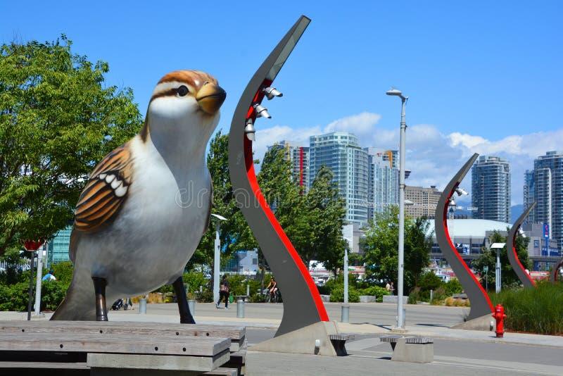 Reuzevogel royalty-vrije stock fotografie