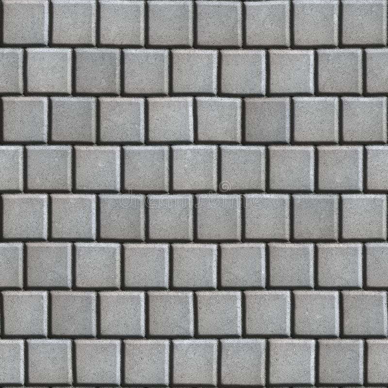 Revêtement bétonné étendu comme Gray Small Square image stock