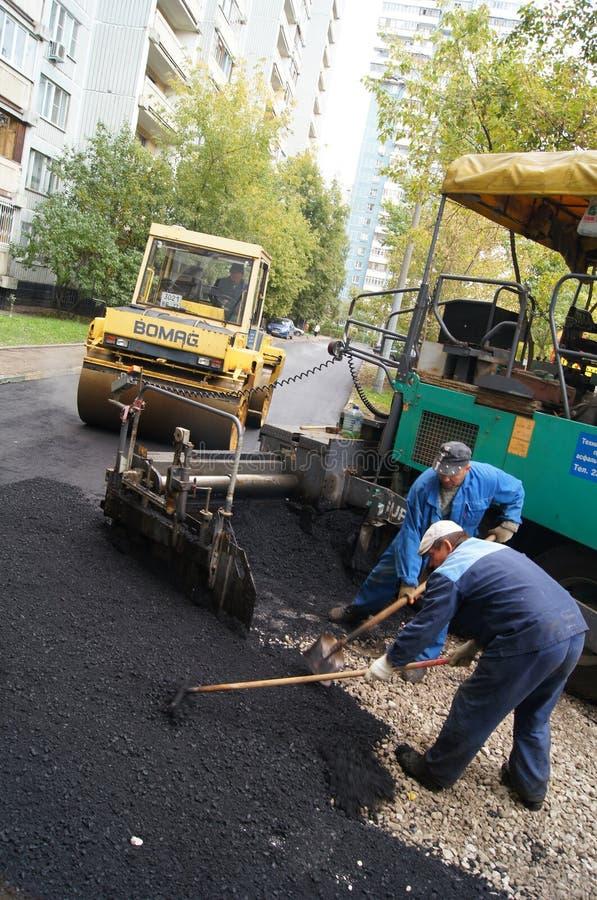 Revêtement d'asphalte photographie stock libre de droits
