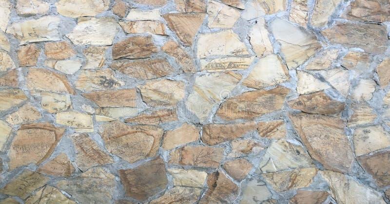 Revêtement de la chaussée en pierre de bloc comme texture Mur ou plancher de fond avec les pavés Papier peint de tuile de roche image libre de droits