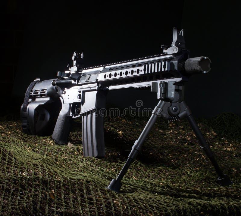 Revólver AR-15 imagens de stock royalty free
