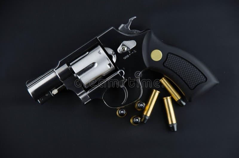 Revólver da arma do BB foto de stock