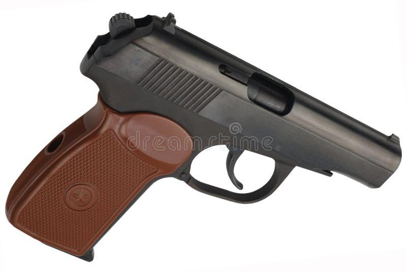 Revólver do soviete 9mm fotografia de stock