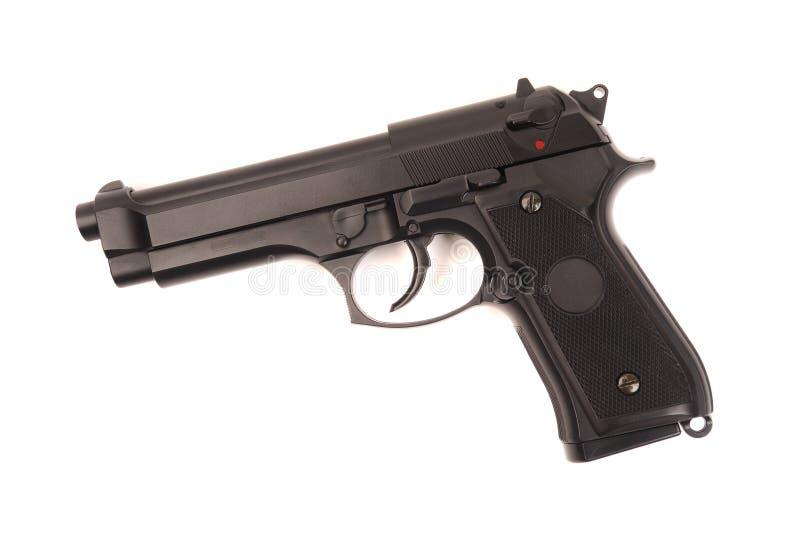 Revólver M9 foto de stock