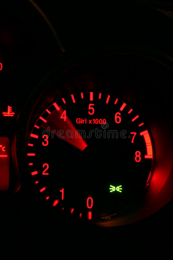 Download Rev counter stock image. Image of motoring, dial, driving - 604541
