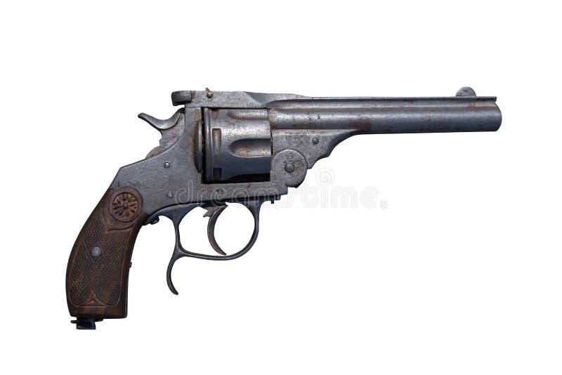 Rev?lver da arma Arma de fogo antiga imagens de stock