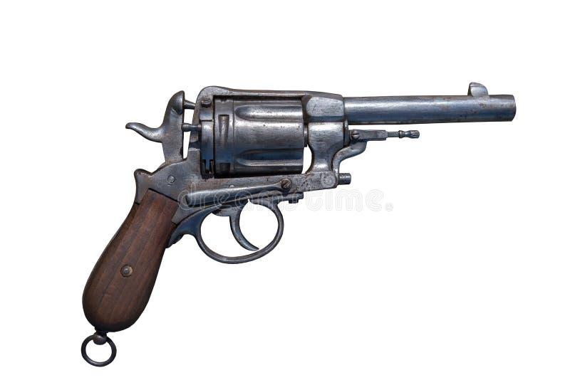 Rev?lver da arma Arma de fogo antiga imagens de stock royalty free