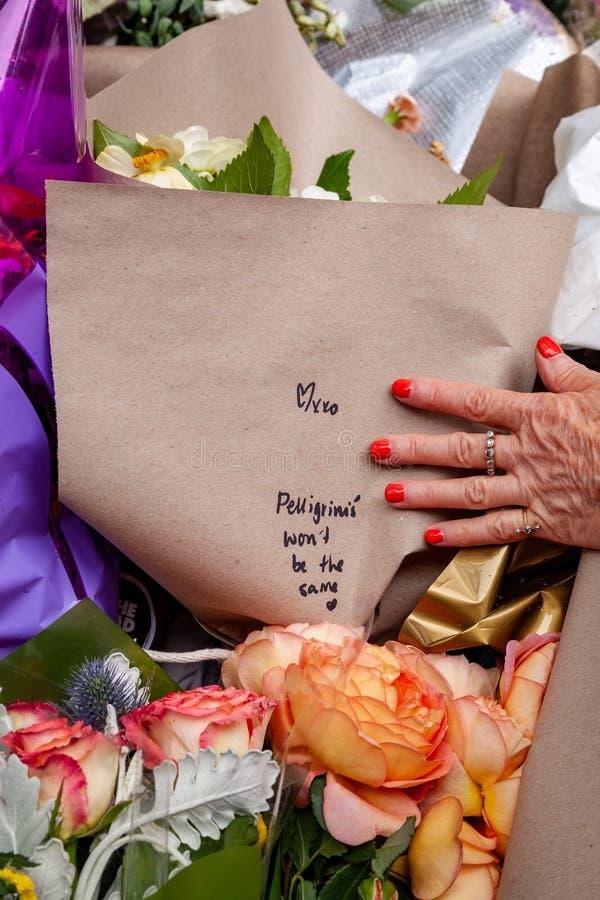 REVASisto Malaspina offer av föregiven terroristattack arkivbild