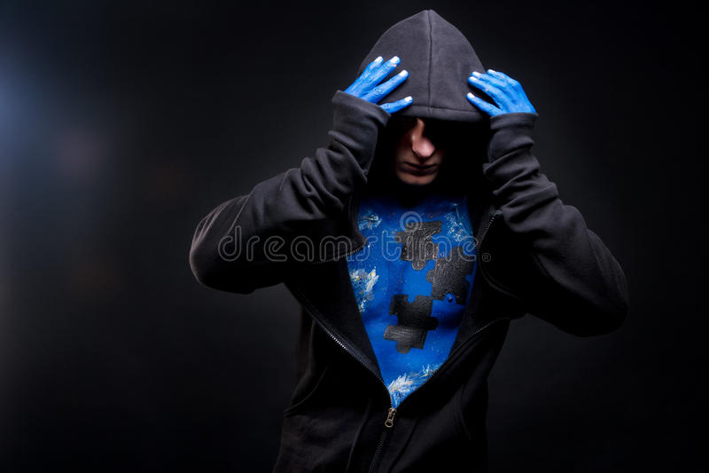 Download Revealing the face stock image. Image of color, painted - 23000365