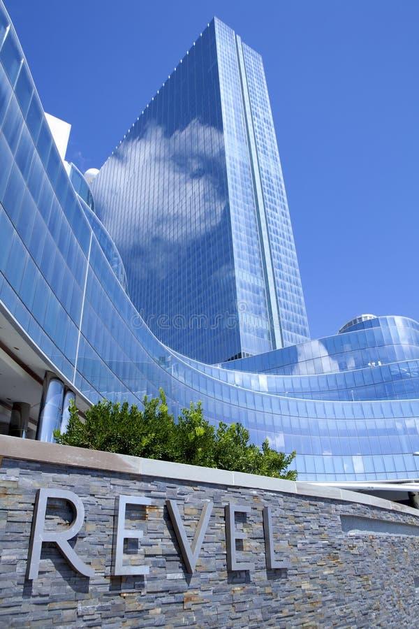 Revel Casino in Atlantic City royalty-vrije stock foto's