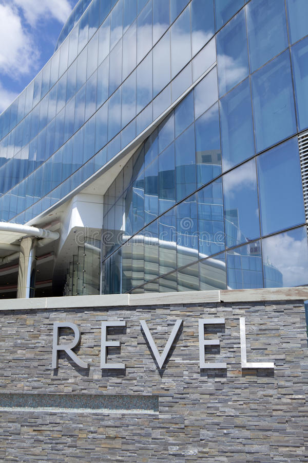 Revel Casino in Atlantic City stock foto's