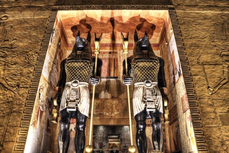 Revenge of Mummy at Universal Studios Singapore royalty free stock images