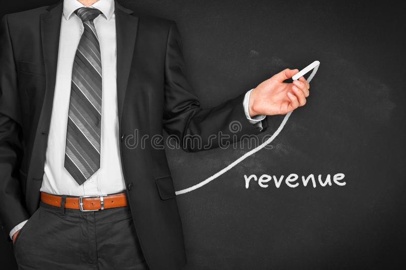 Revenue increase stock image